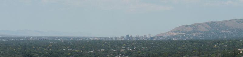 Ozone smog